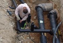 Lucrările specifice în sistemul de alimentare cu apă şi de canalizare pe domeniul public sunt execut...