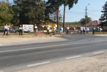 Protest la Călinești: Fără penali în primărie, vrem normalitate!