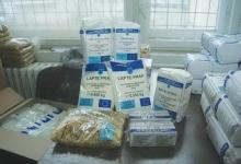 Alimente de la UE pentru persoanele defavorizate din Pitești