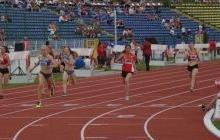 Regal de atletism pe stadionul Nicolae Dobrin