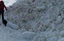 Risc crescut de avalanşă în Făgăraş