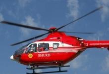 Elicopter SMURD, la Piteşti