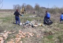 Igienizare pe pârâul Valea Mare în zona localității Valea Mare – Ștefănești
