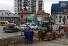 Strada Tudor Vladimirescu – în curs de reabilitare