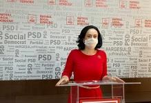 Simona Bucura Oprescu, discurs inedit în Parlament