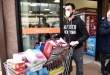 A mers la cumpărături fără mască de protecție și a fost amndat!