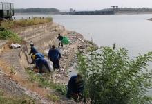 Acțiune amplă de ecologizare pe lacul Golești