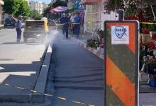 S.Ed.C Mioveni execută lucrări de reparații a carosabilului, trotuarelor și bordurilor din zona Pieț...