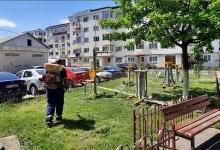 S.Ed.C Mioveni acționează în vederea asigurării unui grad corespunzător de curățenie orașului Mioven...