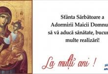 Conducerea Apă Canal vă urează La mulţi ani de Sfânta Maria!