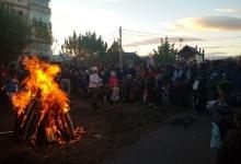 Focul lui Sumedru s-a aprins la Mioveni