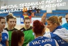 Handbalistele de la Mioveni, duel cu Reșița