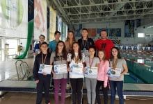 Medalii pentru înotătorii de la CS Dacia Mioveni