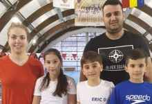 Trei înotători din Mioveni, concurs la Izvorani