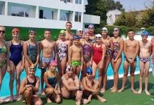 Înotătorii de la CS Dacia Mioveni, în cantonament, la mare