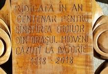 Monument în cinstea eroilor, la Clucereasa