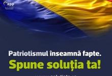 PMP lansează www.solutiata.ro și campania Patriotismul înseamnă fapte. Spune soluția ta!