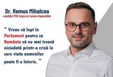 Remus Mihalcea: Vreau să lupt în Parlament pentru ca România să nu mai treacă niciodată printr-o cri...