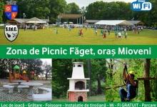 Reguli pentru utilizarea grătarelor din zona de picnic Făget, Mioveni