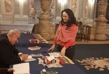 Deputatul Simona Bucura Oprescu, la lansarea volumului Jurnal de Război, la Cercul Militar Național