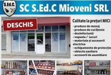 Magazinul SEDC Mioveni vă invită la cumpărături