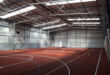 A fost recepționată noua sală de sport a Școlii Gimnaziale Ion Pillat
