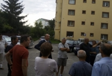 Secretarul de stat Robert Tudorache și consilierii locali ALDE, întâlnire cu cetățenii din Găvana II...