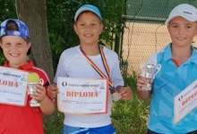Micii tenismeni din Mioveni, pe podium la Trofeul Broker Campion