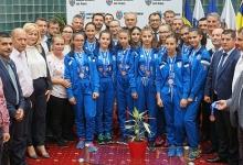 Speranțele secției de volei a CS Dacia Mioveni 2012 au fost felicitate astăzi