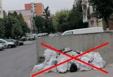 Locul deșeurilor provenite din construcții și demolări nu este la platformele de colectare!